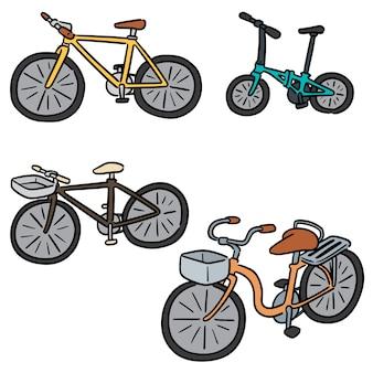 Set of bicycle