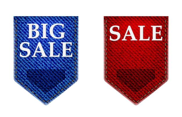 Set of big sale