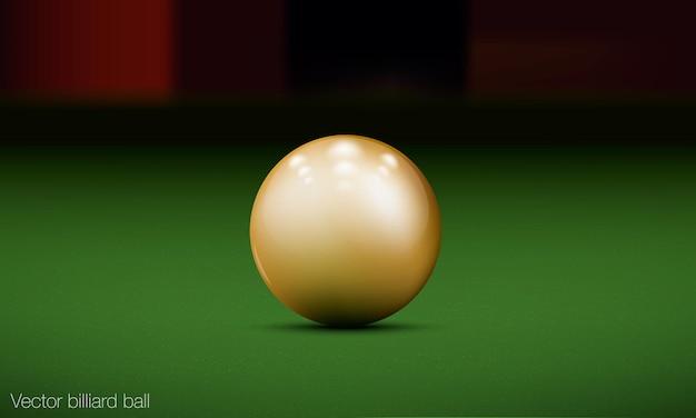 Set of billiards banner