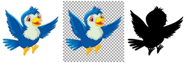 Set of bird character