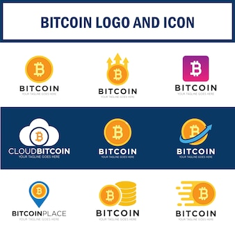 Set bitcoin logo