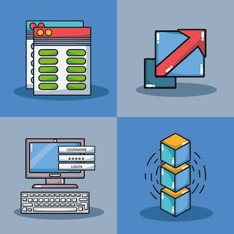 Установите технологию безопасности блокчин с центром обработки данных