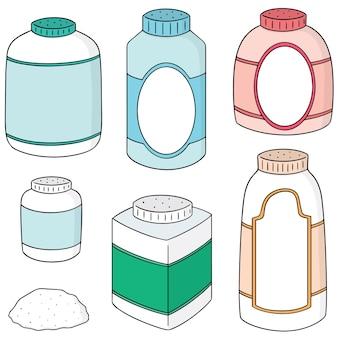 Set of body powder