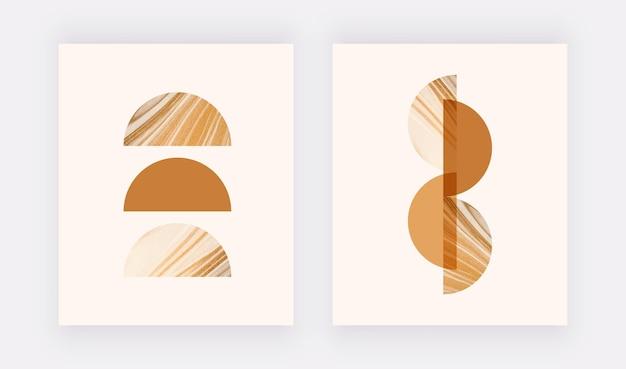 Установить бохо настенные принты. современный абстрактный дизайн