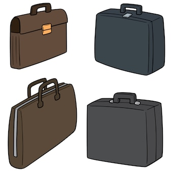 Set of briefcase