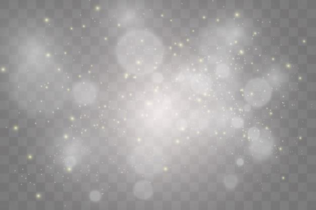 Set of bright beautiful stars. light effect. bright star. beautiful light to illustrate.