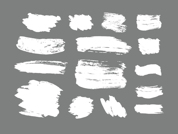 Set of brush strokes grunge design elements golden paint ink brushes lines grungy dirty artistic  boxes frames gold lines isolated  abstract gold glittering textured art illustration vector
