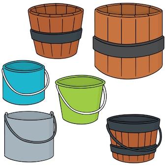 Set of bucket