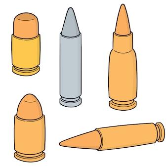 Set of bullet