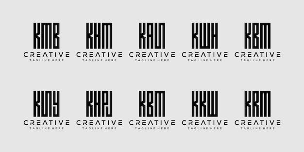バンドル文字kのロゴデザインを設定します