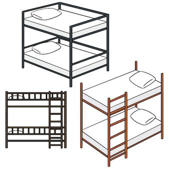 Set of bunk bed