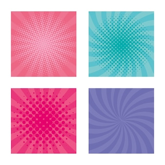 Set burst pattern colors