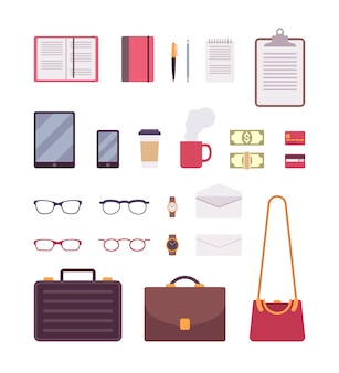 Set of business items