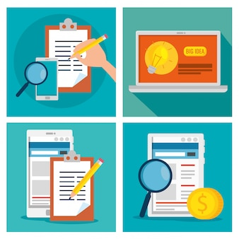 Impostare la strategia aziendale con informazioni sulla tecnologia e sui documenti