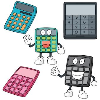 Set of calculator