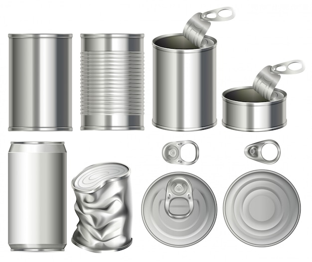 A set of can container