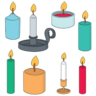 Set of candle