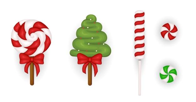 Set candy christmas