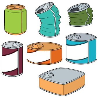 Set of cans