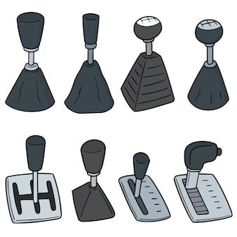 Set of car transmission