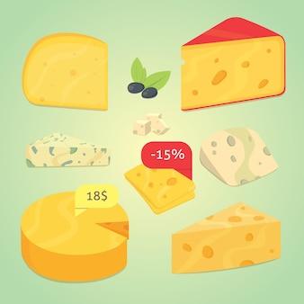 치즈 그림 설정