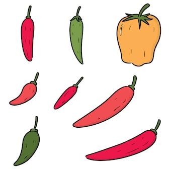 Set of chilli