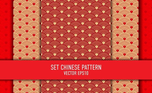 Set chinese pattern