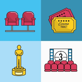 Set cinematography tools production studio