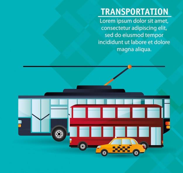 Set city public transport