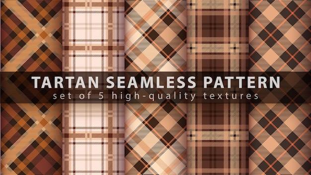 클래식 타탄 원활한 패턴을 설정합니다.