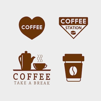 Set of coffee elements and coffee accessories