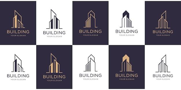 コレクションの建物のロゴデザインを設定します。