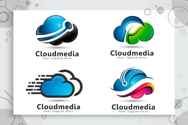 Установить сборку логотипа облачных данных