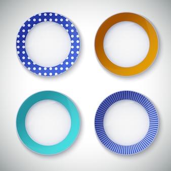 Set of color plates.