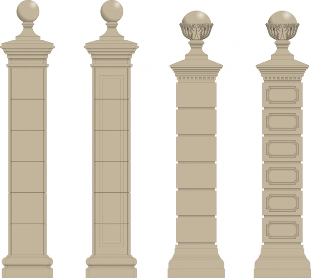 Set of column 3