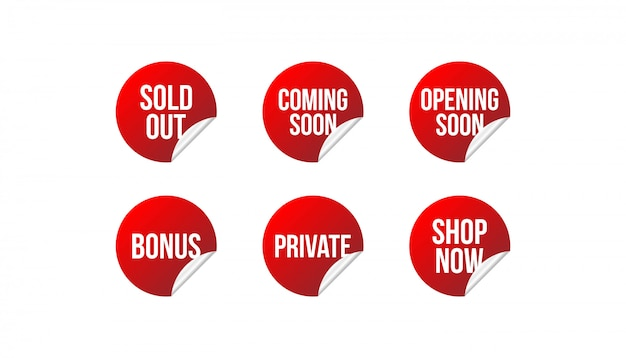 Set commercial badges