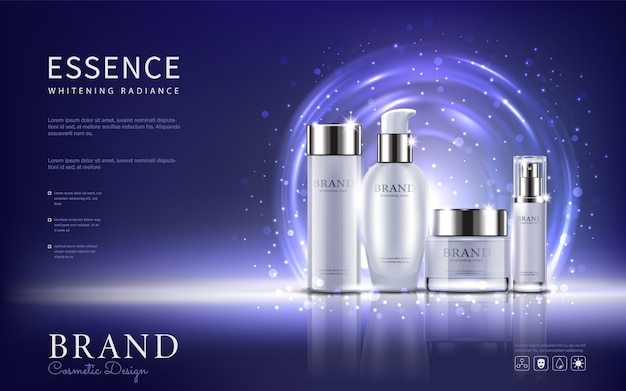 Set cosmetic ads