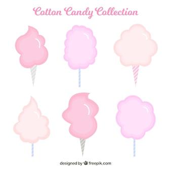 Set di caramelle di cotone