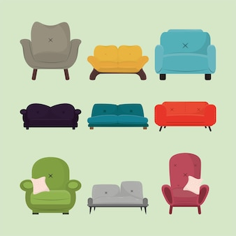 Set of couch