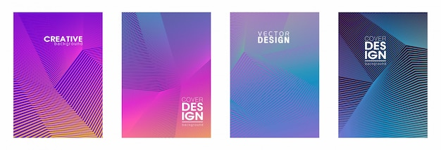 Set of covers template
