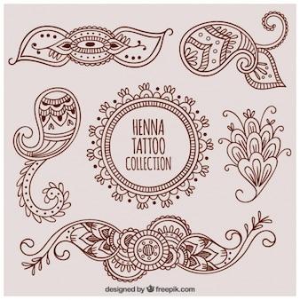 Набор декоративной татуировки хной