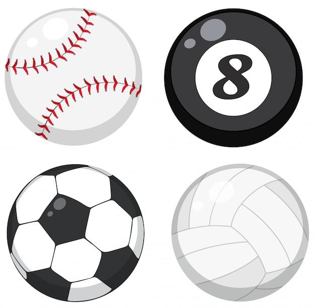 Set di palle diverse