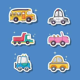 Set different transportation patches element