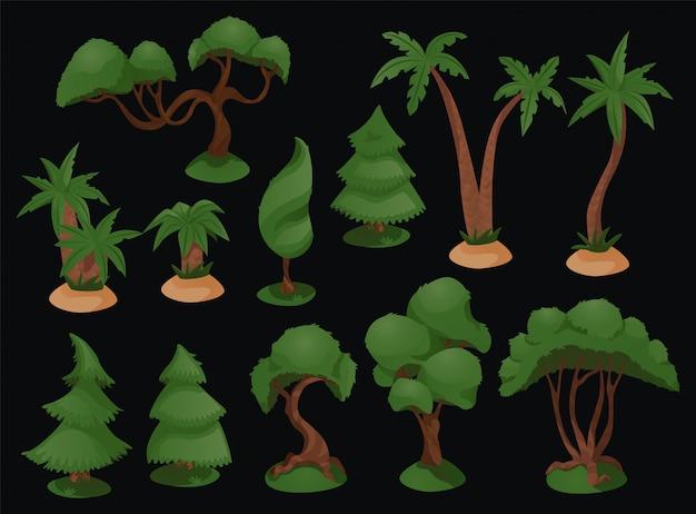 樹木セットの多様性を設定します。