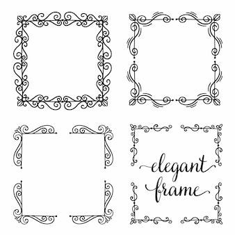 Set divider frame ornament.