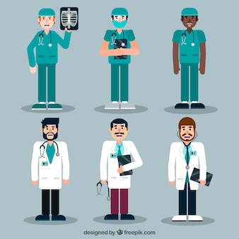 Set of doctors with different complements