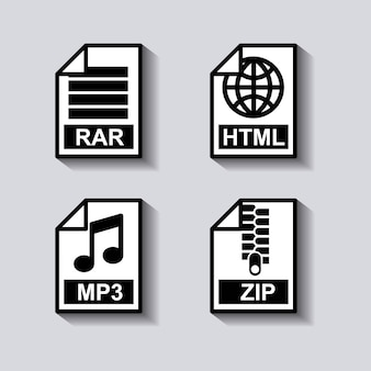 Set documents format icon