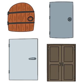 Set of door