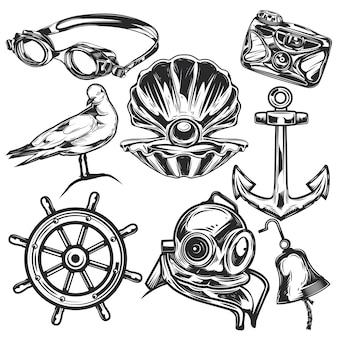 Set of drawings