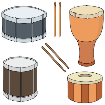 Set of drum